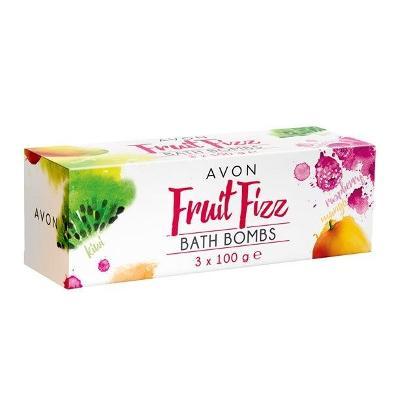 Šumivé bomby do koupele s vůní ovoce