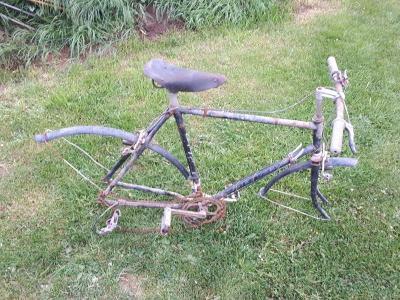 Rám starého kola