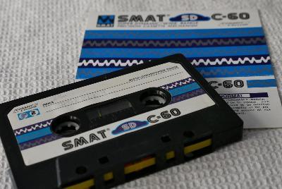 Audio Kazeta SMAT SD C-60