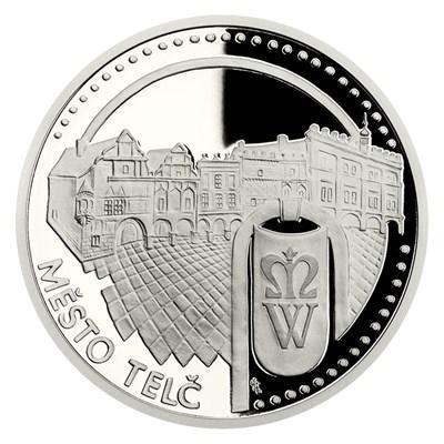 Platinová mince UNESCO - Telč