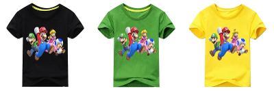 Super Mario / Luigi - dětské tričko, různé velikosti