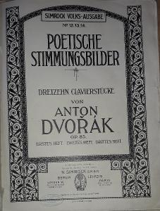 A.Dvořák Dreizehn clavierstücke OP85