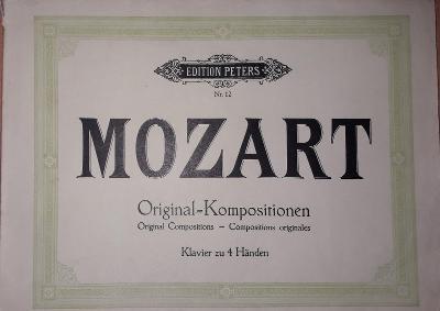 Mozart original-kompositionen Klavier zu 4 händen