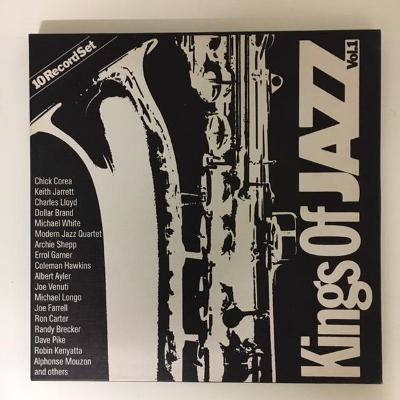 LP vinyl Various – Kings Of Jazz Vol. 1 - 10 x LP