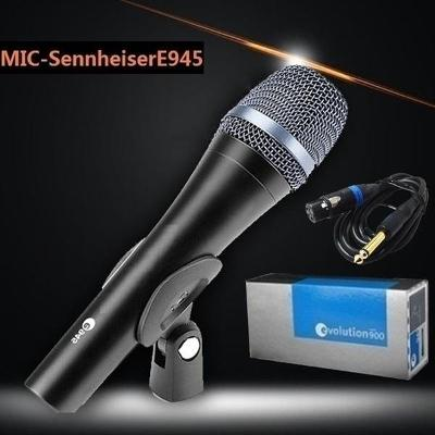 Superkardioidní zpěvový mikrofon Sennheiser E945