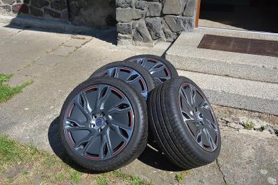 Alu kola s pneu Michelin