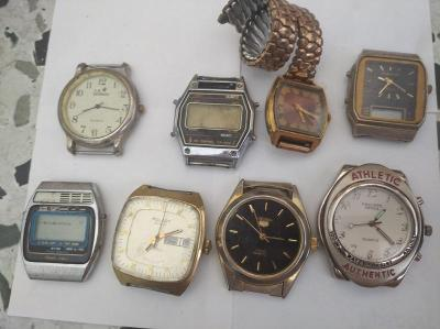 Konvolut hodinek různé značky
