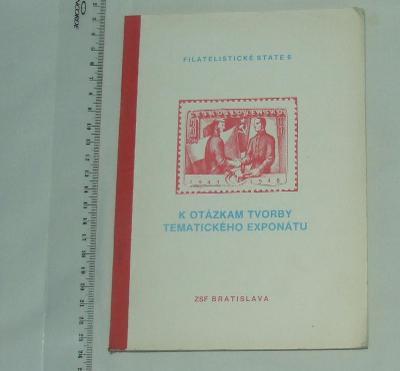 K otázkám tvorby tématického exponátu - známky - 1983 - slovensky