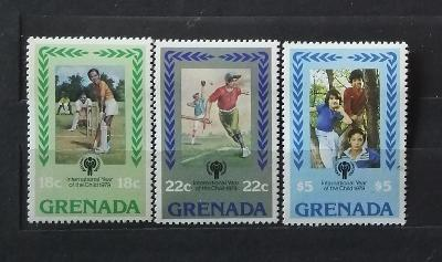 Grenada 1979 - komplet, mezinárodní rok dětí