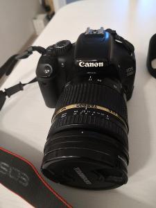 Canon 550D + Tamron Di II 17-50mm f2.8 s příslušenstvím