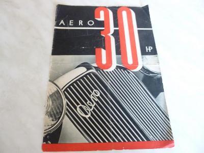 Aero 30 - katalog - prospekt - propagační materiál