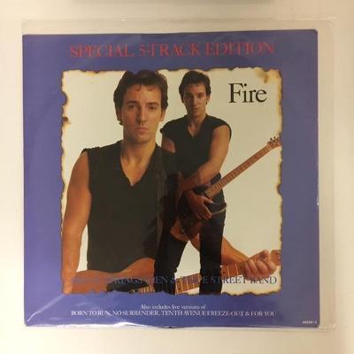 "Bruce Springsteen & The E-Street Band – Fire 12"" maxi vinyl"