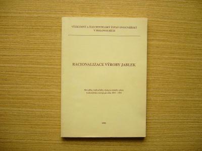 Josef Staněk a kol. - Racionalizace výroby jablek   1990