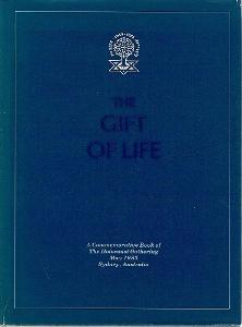 The Gift of Life-Commeromative Book Holocaust Gathering 1985 Australia