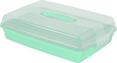 Plastový PARTY BOX - mint 63618