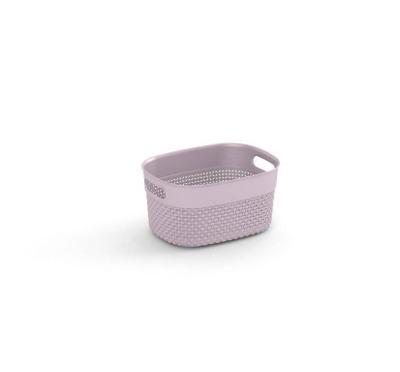 Plastový košík FILO XS - růžový 63629