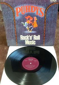 LP  Puhdys – Rock'N' Roll Music VG+/EX-