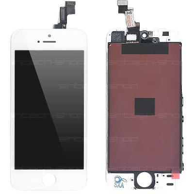 iPhone 5S LCD displej + dotyk bílý