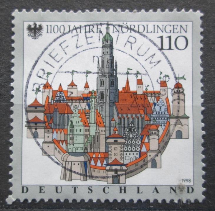 Německo 1998 Nordlingen Mi# 1965 1858 - Filatelie