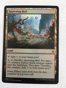 Spawning Bed - FOIL - Battle for Zendikar - Magic the Gathering