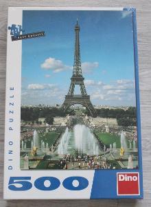 Puzzle - Eiffelova věž - 500ks, nerozbalené, nové