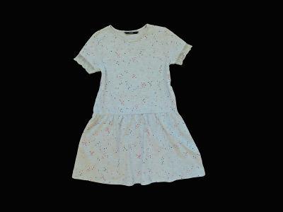 Letní šaty s drobnými srdíčky George 6-7let