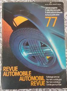 Katalog REVUE AUTOMOBILE 1977  (Francouzky)