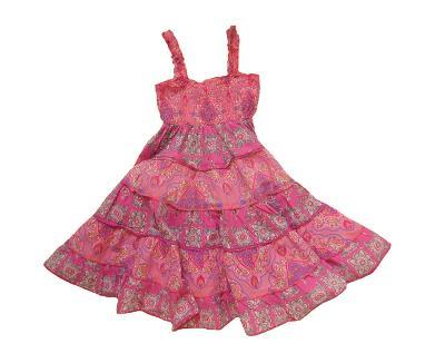 Plátěné kanýrkové šaty C&A 6-7 let