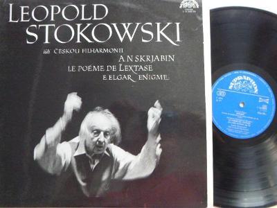 L. STOKOWSKI ČESKÁ FILH.- SKRJABIN LE POÉME DE L´EXTASE E.ELGAR ENIGME