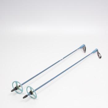 Sjezdové hůlky modré, délka 101 cm