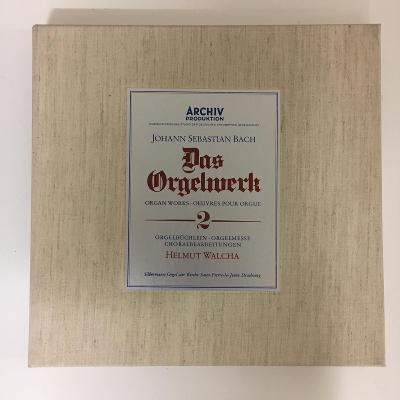 Johann Sebastian Bach - Helmut Walcha – Das Orgelwerk 2 - 7 xLP vinyl