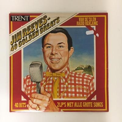 Jim Reeves – 40 Golden Greats Country