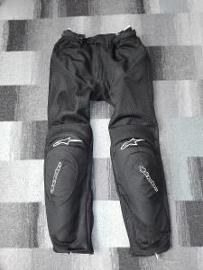 moto kalhoty Alpinestars A-10 Air-Flo černé
