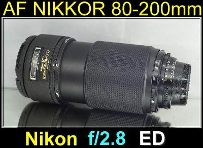 💥 - Nikon AFNikkor 80-200mm 1:2.8ED *f/2,8. FX Tele-Zoom***TOP**