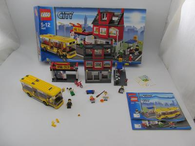 Lego set 7641 původní krabice navod-planek komplet 2009 rok
