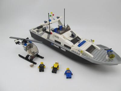 Lego set City 7899 Policejní člun policie Policejní vrtulník