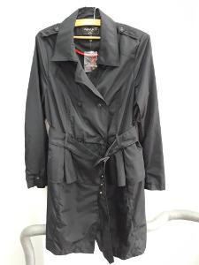 NOVÝ černý kabát, tenčkot (bunda) 2v1, značka APART, vel. 42