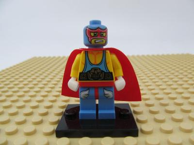 LEGO 8683 Minifigures Series 1 - Super Wrestler figurka