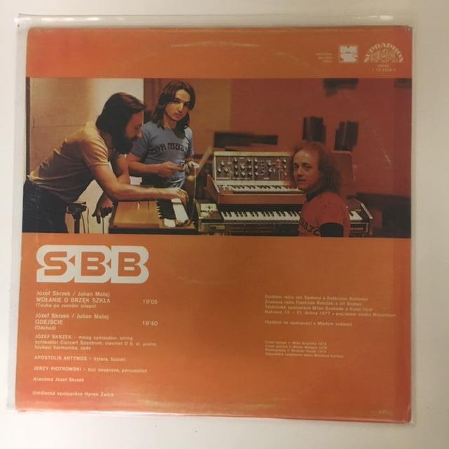SBB – SBB LP vinyl - Hudba