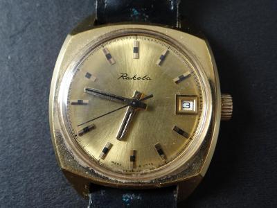 VELKÝ MODEL RAKETA, pánské hodinky, velice hezký stav