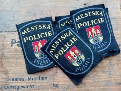 Nášivka Městská policie Praha