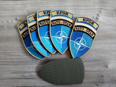 Nášivka Cizinecká legie KFOR NATO OTAN,  Francie originál barevná