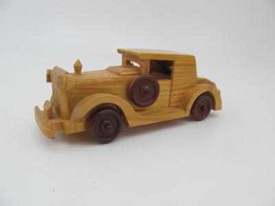 Dřevěné hračky Dřevěné autíčko