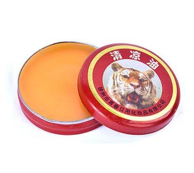 5 kusů Tygří (thajská) mast 3g z přírodních látek