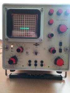 charakterograf osciloskop měřič