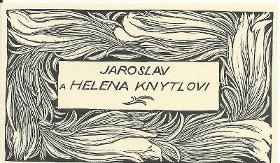 František Kobliha: Jaroslav a Helena Knytlovi