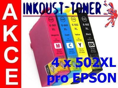 Sada náplní pro Epson WF-2860 a WF-2865 - 4ks