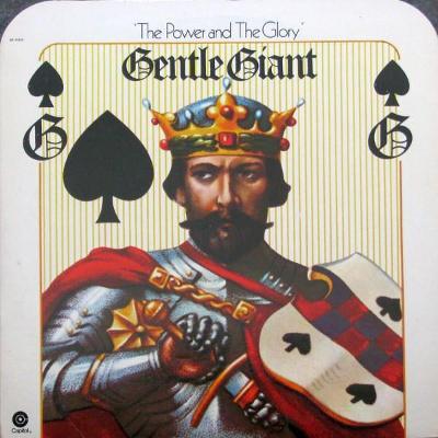 LP:GENTLE GIANT/progress,USA press 1974+vnit.obal/The Power MINT/MINT
