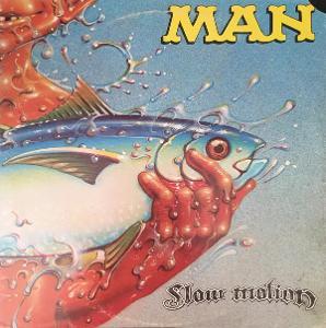 LP:MAN/progress,USA press z roku 1974/Slow Motion 1974 obal:MINT LP:NM