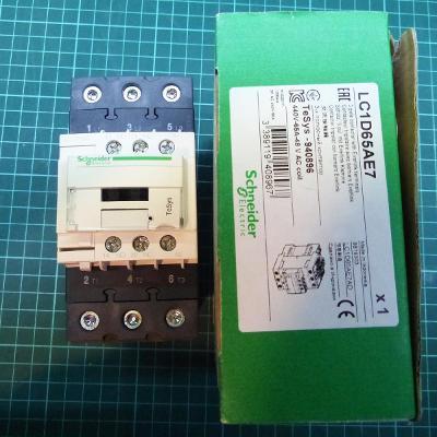 Stykač Schneider Electric LC1D65AE7 3P(3Z) 65A, cívka 48VAC